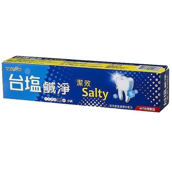 台塩 鹹淨潔效 牙膏 150g【康鄰超市】