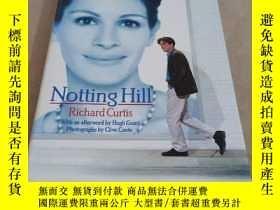 二手書博民逛書店Notting罕見Hill. Der Roman zum Film mit Julia Roberts & Hug