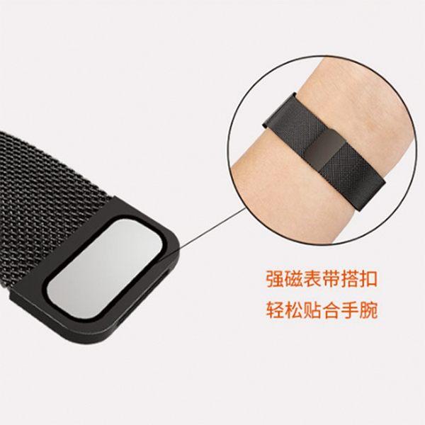 SAMSUNG Galaxy Watch 42mm 46mm 米蘭尼斯金屬錶帶 磁吸 金屬 吸附扣