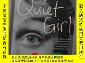 二手書博民逛書店英文原版罕見The Quiet Girl by Peter Ho