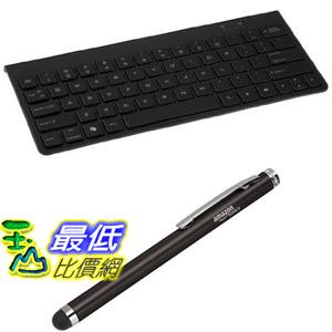 [106美國直購]  AmazonBasics Bundle鍵盤 觸控筆 Bluetooth Keyboard plus Capacitive Stylus