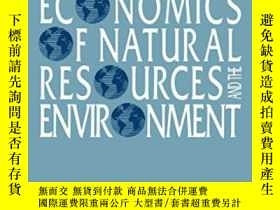 二手書博民逛書店Economics罕見Of Natural Resources And The EnvironmentY256