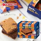 韓國 ORION 好麗友 Market O 布朗尼蛋糕 (柳橙) 96g 巧克力磚 柳橙蛋糕 柳橙巧克力蛋糕 蛋糕