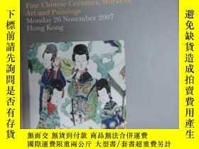 二手書博民逛書店外文書罕見Fine Chinese Ceramics, Works of Art and Paintings Mo