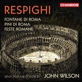 【停看聽音響唱片】【SACD】雷史畢基:羅馬三部曲 威爾森 指揮 倫敦市立交響樂團