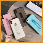 三星隱形指環支架手機殼S9 S9 Note9 Note8 A6 A8 2018 A8 全包邊軟殼二合一影片支架掛繩洞