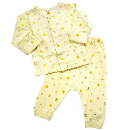 【奇買親子購物網】黃色小鴨綿羊版全開套裝0~3M/3~6M(藍/粉/黃)