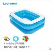 兒童充氣加厚游泳池洗澡桶浴盆式SQ2463『樂愛居家館』