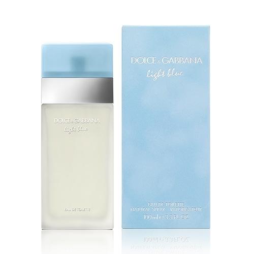 Dolce & Gabbana Light Blue 淺藍女性淡香水 100ml EDT【BG Shop】D&G