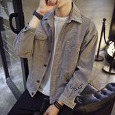 春季新款外套男士外套牛仔韓版修身