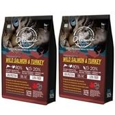 Allando 奧蘭多天然無穀貓鮮糧(野生鮭魚+火雞肉) 2.27公斤 X 2包