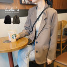 LULUS-Q雙釦墊肩西裝外套-2色  【03190084】
