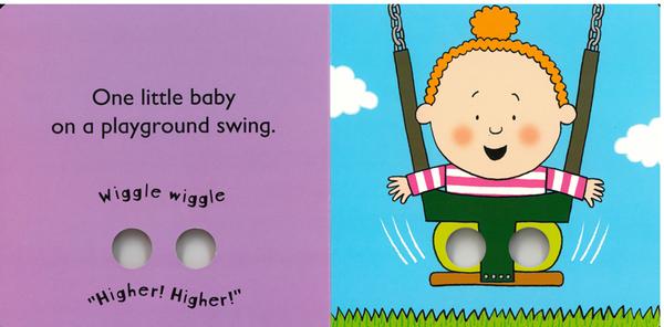 【兩書組合價520元】LITTLE BABY'S BUSY DAY+PLAYTIME/硬頁手指遊戲書(生活體驗)
