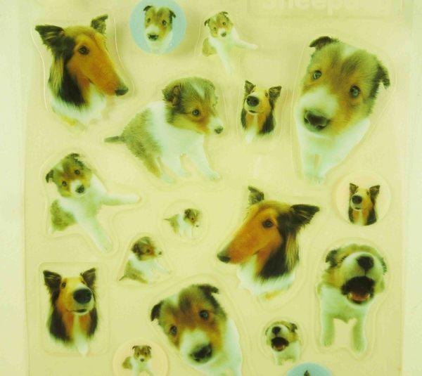【震撼精品百貨】新大頭狗_The Dog~透明貼紙-牧羊犬