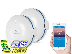 [107美國直購] Smart 智能感測器 Wi-Fi Water Sensor, Flood and Leak Detector Alarm and App Notification