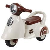 寶貝樂 motorcycle機車學步車/助步車-白色(BTRT605W)