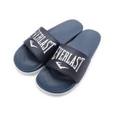 EVERLAST 雙密度套式拖鞋 藍 4925220280 男鞋 鞋全家福