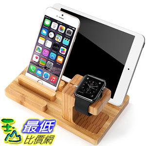 [美國直購] Aerb Bamboo Wood 木質感 充電座 Charge Dock Holder for Apple Watch, iPod iPhone iPad