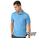 PolarStar 男 Coolmax短袖POLO衫『海藍』P21159 排汗衣 排汗衫 吸濕快乾.吸濕.排汗.透氣.快乾.輕量