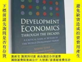 二手書博民逛書店Development罕見economics through t