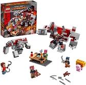 LEGO 樂高  Minecraft The Redstone Battle 21163 Cool Minecraft Set (504 Pieces)