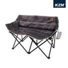 【原廠公司貨】丹大戶外【KAZMI】彩繪民族風月亮雙人折疊椅 K9T3C007