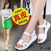涼鞋女涼鞋松糕夏季鞋子女韓版學生
