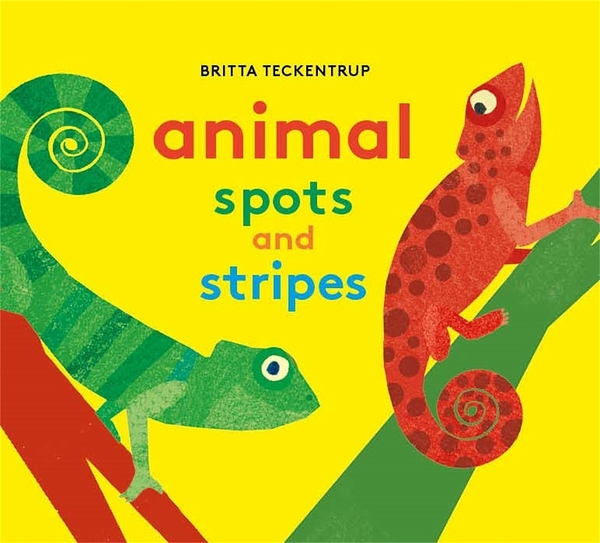 Animals Spots And Stripes 點點條紋動物 硬頁書