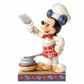 《Enesco精品雕塑》迪士尼米奇料理主廚塑像-Bon Appetit(Disney Traditions)_EN89030