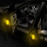 安全反光貼紙 反光貼紙 反光條 反光警示貼紙 反光板 警示條 OPEN貼 車用反光貼(1張)【L175】慢思行