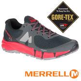MERRELL美國 AGILITY 男 GORE-TEX多功能越野跑鞋『灰/黑/紅』09653 機能鞋│休閒鞋│登山│戶外