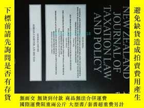 二手書博民逛書店New罕見Zealand Journal of Taxation