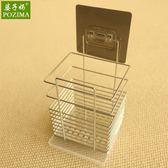 304不銹鋼筷子筒筷籠子壁掛式筷子盒桶 東京衣櫃