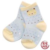 【日本製】【anano cafe】日本製 嬰幼兒寶寶襪 藍色 SD-2856 - 日本製