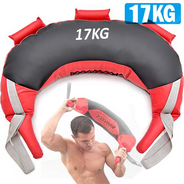 17KG保加利亞訓練袋負重包健身袋抓舉甩包力量體能訓練深蹲爆發力核心肌群運動健身器材哪裡買ptt