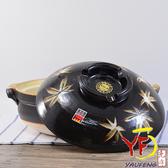 【堯峰陶瓷】【日本製萬古燒】9號楓葉砂鍋(4-5人適用) 親子鍋   送禮自用   現貨