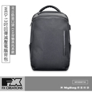 FX CREATIONS 後背包 WED系列 13吋回彈減壓電腦背包 黑色 WED69873A 得意時袋