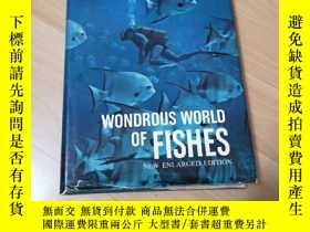 二手書博民逛書店WONDROUS罕見WORLD OF FISHESY313199