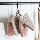 防燙手套矽膠隔熱加厚烤箱微波爐砂鍋手夾烘焙家用夾子