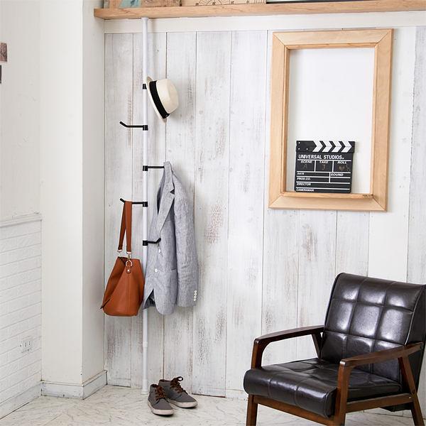 Loxin【BG1102】ikloo頂天立地全方位衣帽架加長版(193~310cm)  吊衣架
