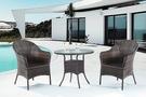 【南洋風休閒傢俱】戶外休閒桌椅系列-休閒圓桌椅組 戶外餐桌椅CX900-6 CX939-19)