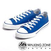 WALKING ZONE 百搭基本款帆布休閒男鞋-藍
