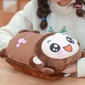 熱水袋充電式防爆暖水袋煖寶寶可愛毛絨電暖手寶熱寶女敷肚子注水 聖誕免運