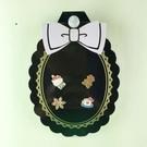 【震撼精品百貨】Hello Kitty 凱蒂貓~耳環-甜點雪花造型(4入)