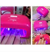 美甲燈甲油膠LED光療燈機烘乾烤燈HL4515『愛尚生活館』