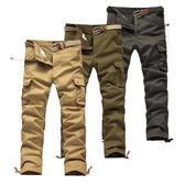 【美國熊】美式風格 立體感多口袋‧ 紮實水洗面料‧六袋款工作褲 / 軍裝褲 [GAOK-66]