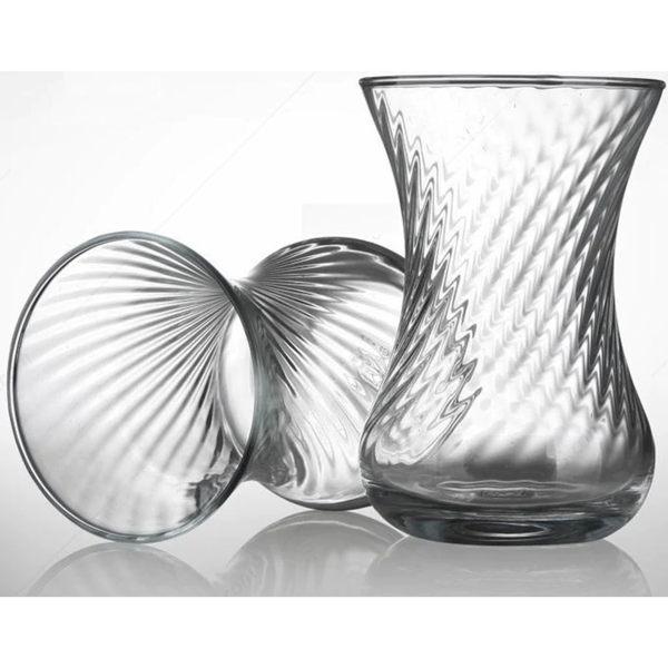 Pasabahce Ince Belli恩斯貝里花茶杯盤 125ml 花茶杯 茶杯 玻璃杯 水杯 飲料杯
