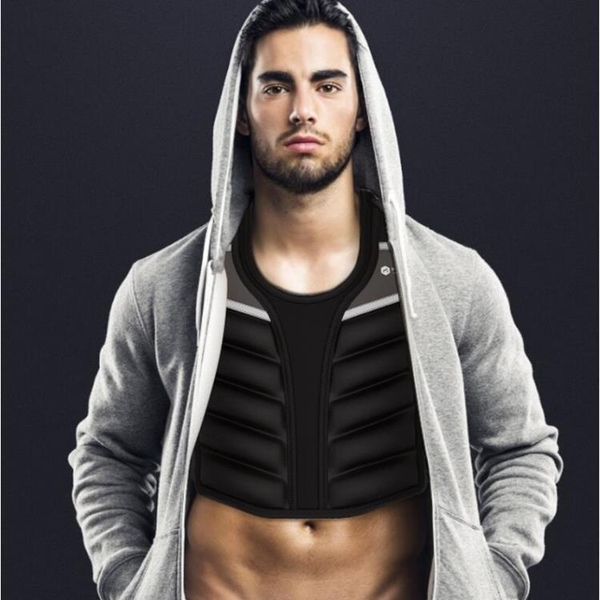 負重背心沙袋綁腿沙包跑步加重沙衣隱形超薄男訓練衣全套健身裝備