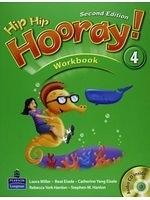 二手書博民逛書店 《Hip Hip Hooray! (2E) Level 4 Workbook with CD》 R2Y ISBN:9789880029400│unspoken
