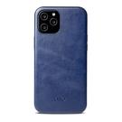 Alto iPhone 12 Pro Max 真皮手機殼背蓋 6.7吋 Original 360 - 海軍藍【可加購客製雷雕】皮革保護套